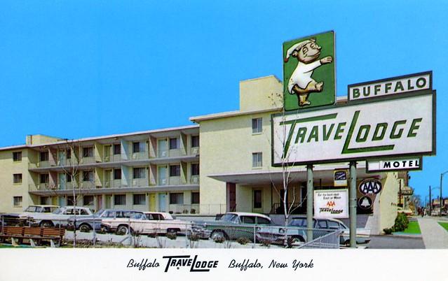 Buffalo TraveLodge - 984 Main Street, Buffalo, New York U.S.A. - 1960s