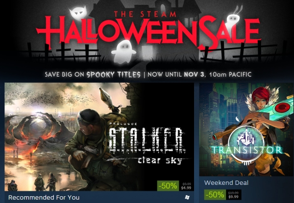 Steam 2014 Halloween Sale Is Now Live   One Angry Gamer