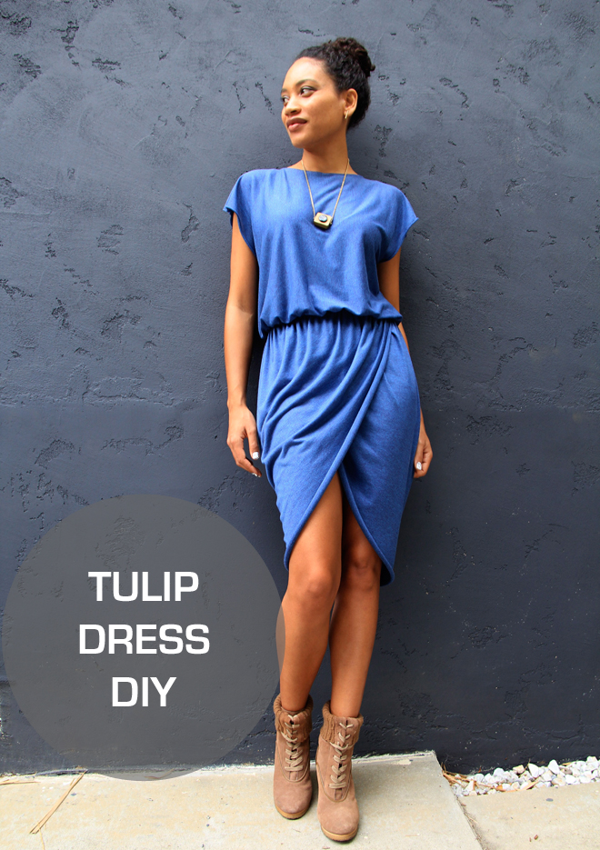 The Felted Fox: TULIP DRESS DIY