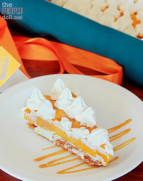 Dulcelin Mango Torte (P140 Slice; P750 9-inch; P1100 12-inch)