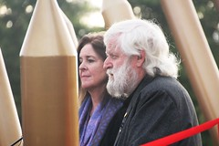 Pikeman's Dog sculpture artists Charles Smith and Joan Walsh-Smith - Eureka160-IMG_9354