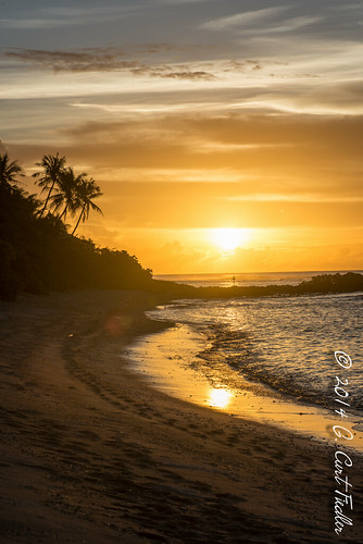 ocean sunset usa beach sand shoreline places material guam dededo guahan naturalplaces territoryofguam weatherelements hilaanpoint