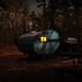 Full Moon - Sleeping Bear Dunes by cedarkayak