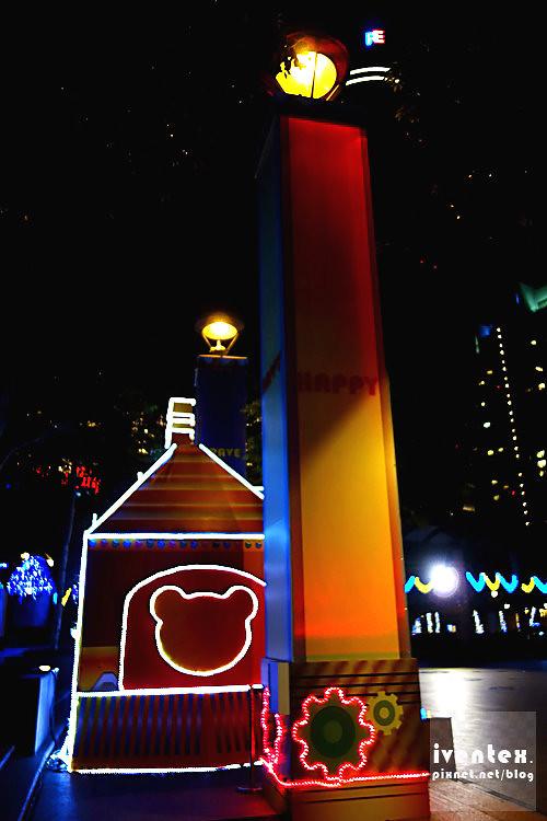 18-1刀口力2014新北市歡樂耶誕城新北市市民廣場耶誕特快車.