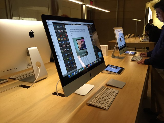 The 5K iMac (with a shameless plug)