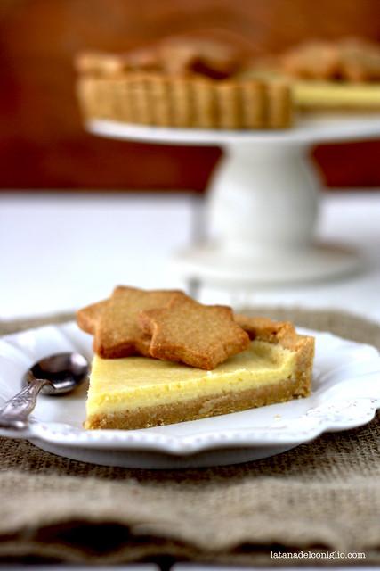 crostata farro e cioccolato bianco