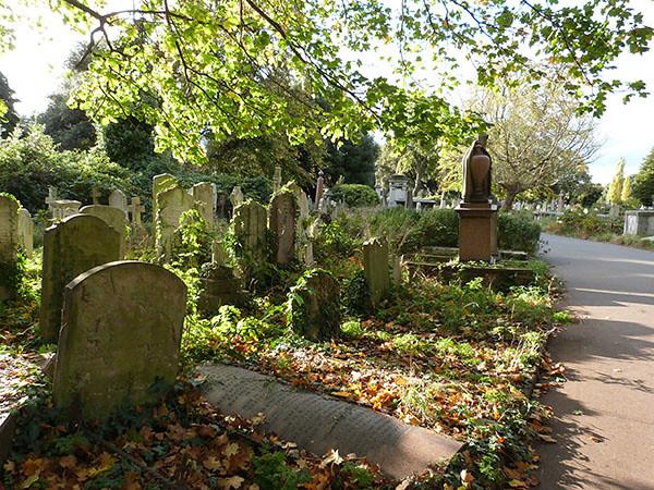 allée cimetière