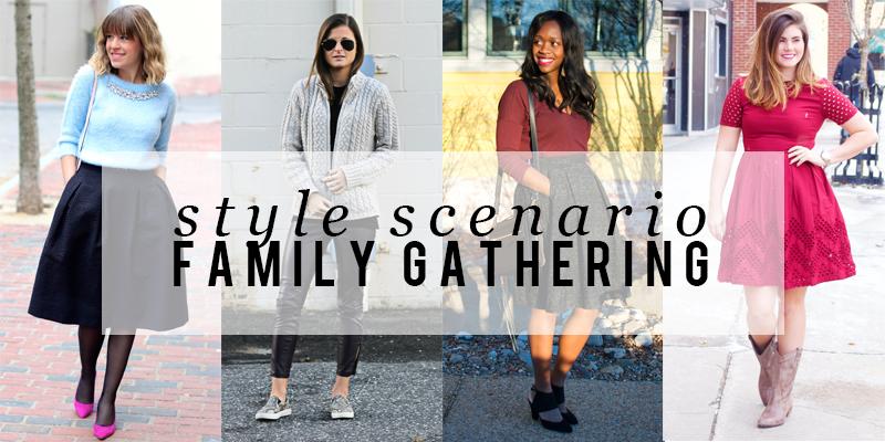 Style Scenario Family Gathering