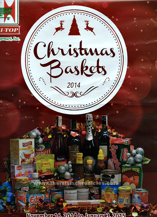 Christmas Baskets and their prices