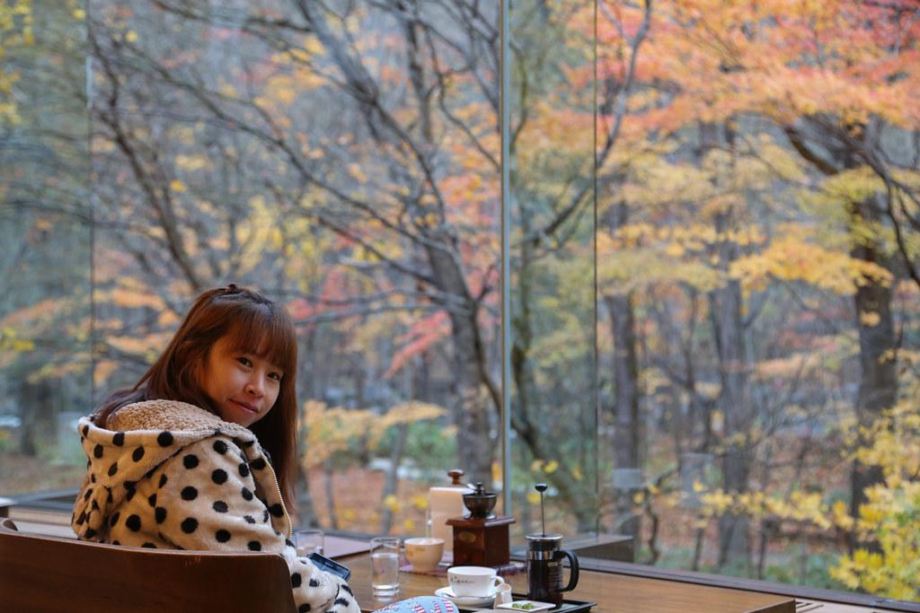 奧入瀨溪流飯店,奧入瀨溪流飯店下午茶,日本賞楓自由行 @陳小可的吃喝玩樂