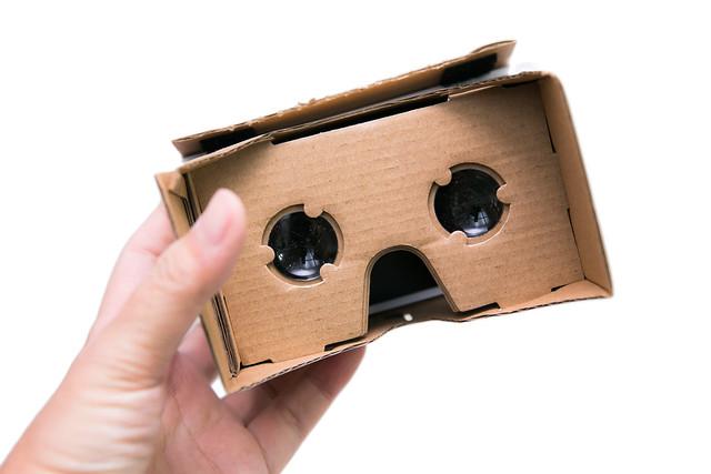 超平價 VR 虛擬實境 Google CardBoard 好好玩 @3C 達人廖阿輝