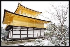 日本京都-金閣寺-雪.64