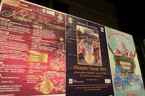 Manifesti, Natale a #Cassano2014