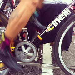 No matter how long or how fast, you have to spin! #cycling #redhookcrit #cinelli #cinellifamily #crit #fixedgear #fixedforum #mquadro #m2 #maglianera #vigorelli