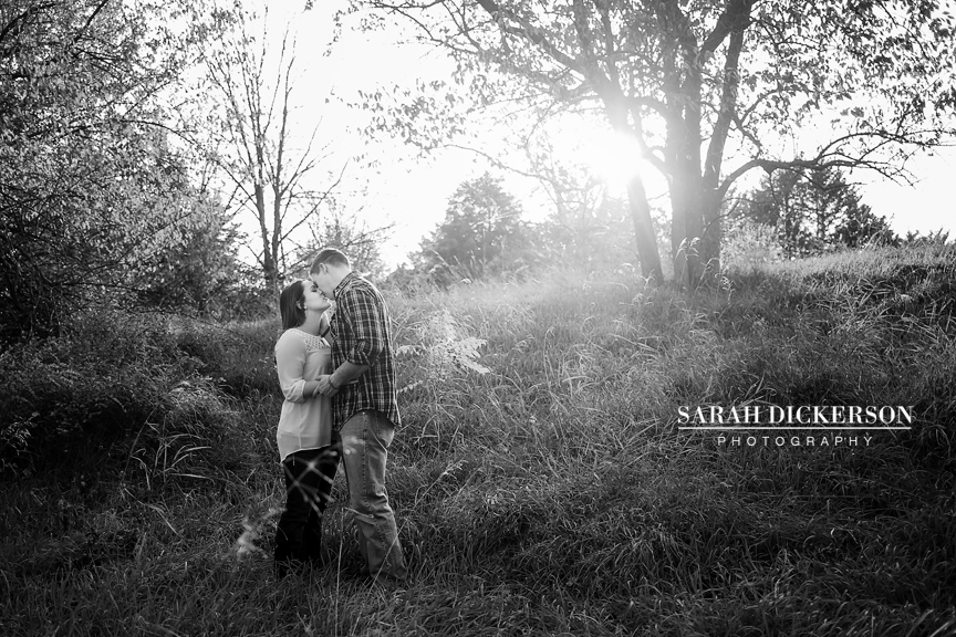 Topeka Kansas farm engagement session