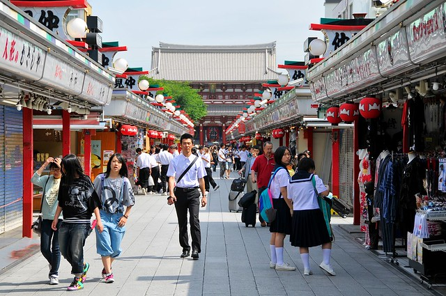 Asakusa souvenir arcade