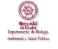 Logo Universidad de Huelva y texto del departamento