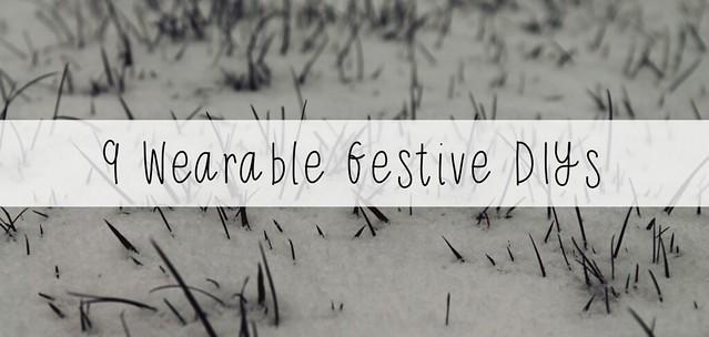 9 wearable festive diys