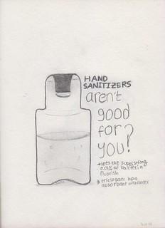 5 Hand sanitizer