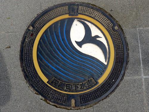 Uchinada Ishikawa, manhole cover (石川県内灘町のマンホール)
