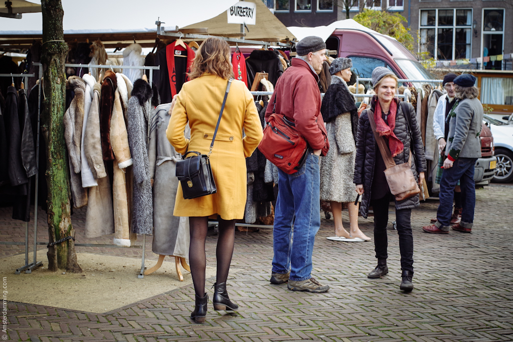 Amsterdam, Saturday Market at the Noordermarkt