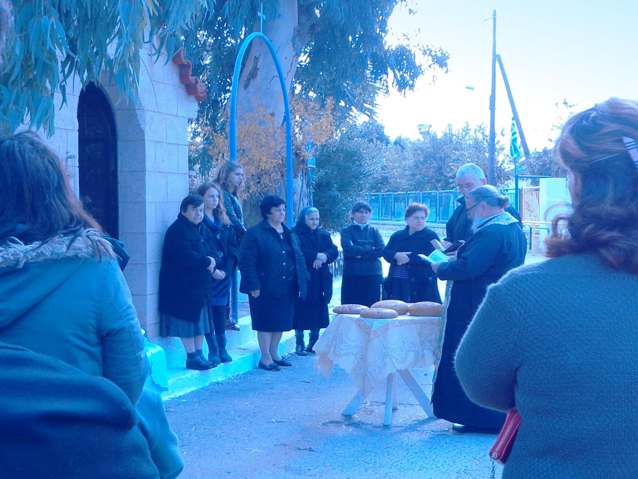 Εκκλησάκι Αγίου Νικολάου, Ψίνθος
