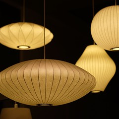 incandescent light bulb(0.0), wood(0.0), ceiling(0.0), lamp(1.0), light fixture(1.0), yellow(1.0), lampshade(1.0), light(1.0), chandelier(1.0), design(1.0), circle(1.0), lighting(1.0),