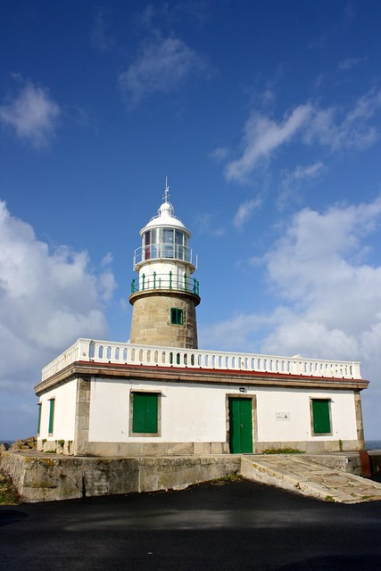 Corrubedo lighthouse, Ribeira, Spain
