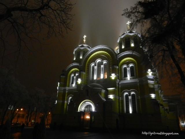 Киев,Владимирский собор