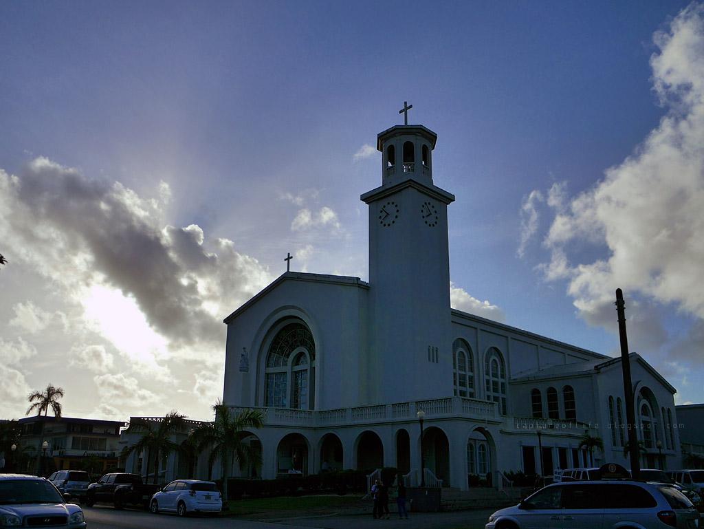 Trip to Guam-- Dulce Nombre de Maria Cathedral-Basilica