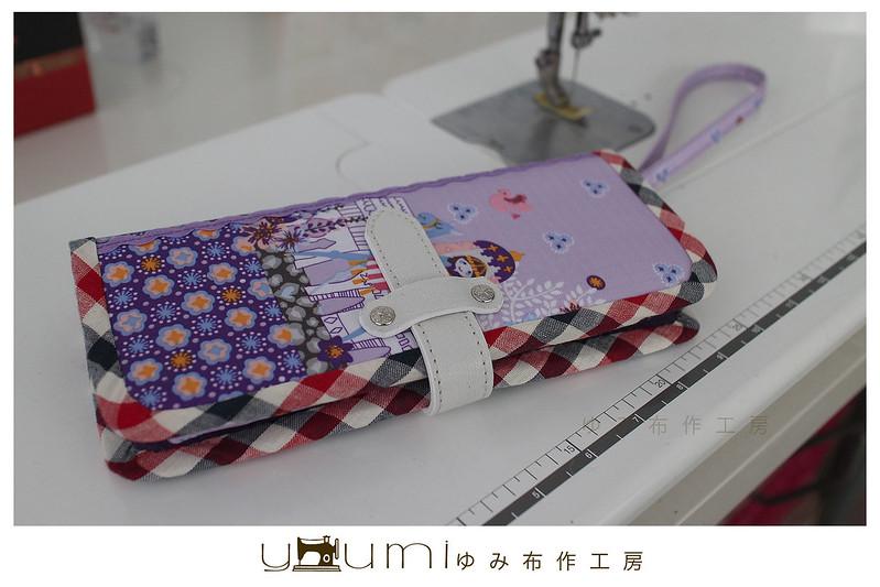 紫色印度皇宮卡片收納包大9