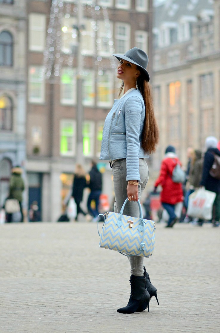 DSC_0487 Baby Blue Moto, Pomikaki bag, Alexander Wang x H&M, Myca Couture, Tamara Chloé 2
