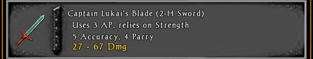 2H Reward Blade