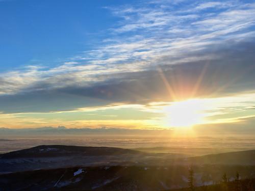 light sky sun alaska landscape wintersolstice fairbanks