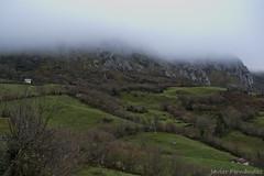 Vistas de Peña Mea (1.557m) desde Les Campes