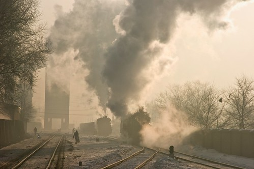 china digital train sunrise trains steam locomotive steamlocomotive steampower steamloco standardgauge chinatrains syclass jixicoalrailway