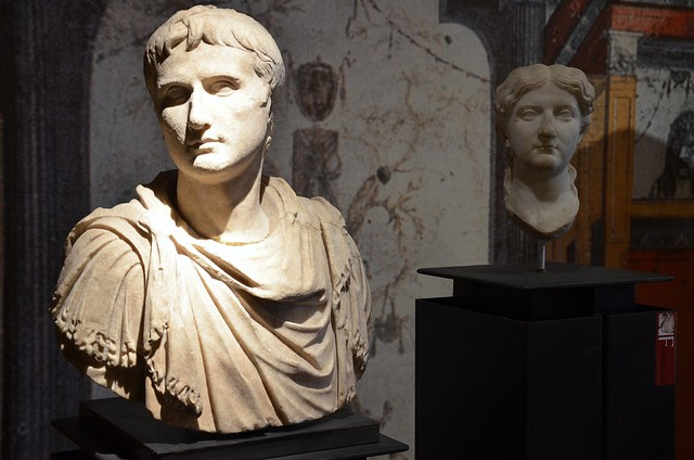 Augustus and Livia, Archaeological Museum of Formia, Italy