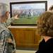 """""""Saluting Washington"""" painting hung at FTIG 2015"""