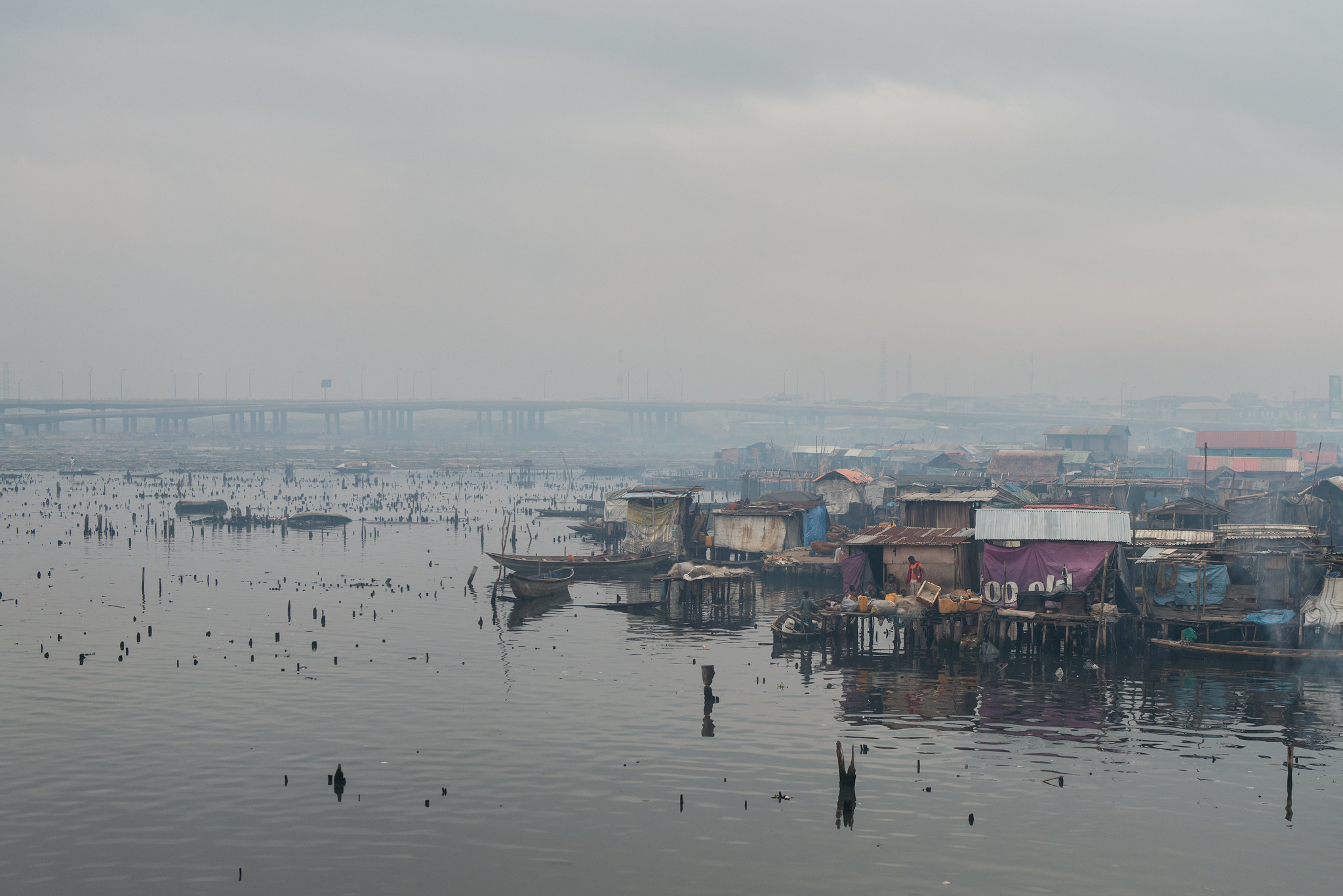 Makoko Razed Shacks