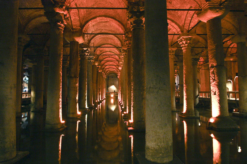 cistern in istanbul