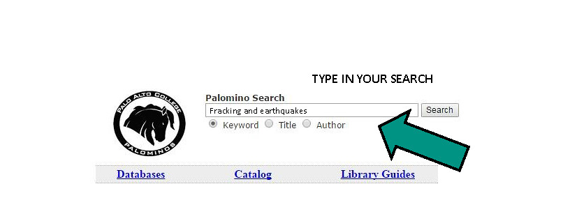 Palomino search example from pdf