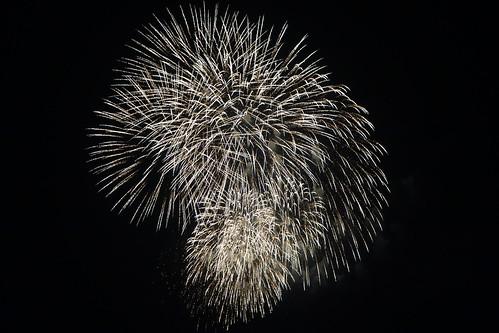 Kumagaya Fireworks_6 熊谷花火大会の写真。 美しい花火。