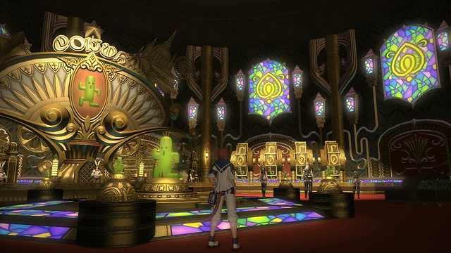 Final Fantasy XIV Patch 2.5: The Manderville Gold Saucer
