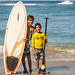 Surf and Sup as friends - A lesson from our groms