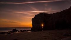 Sunset à Port Blanc