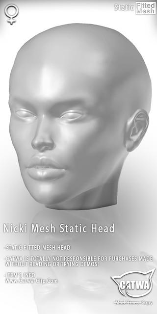 CATWA STATIC HEAD Nicki