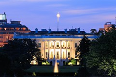 White House after Sunset
