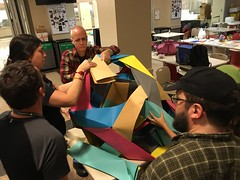 Oversize folding competition