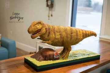 """Mr. T"" Dino Cake by Joyce Nimmo"
