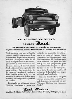 1948 Nash Truck Ad (Argentina)
